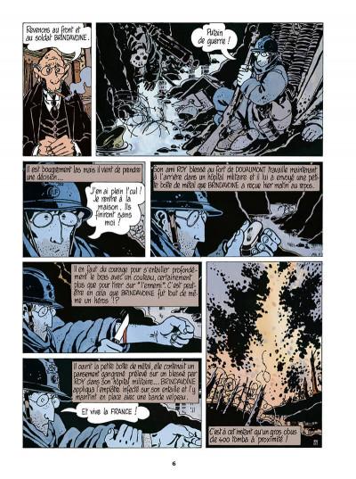 Page 7 Adèle Blanc-Sec tome 5 (édition 2018)