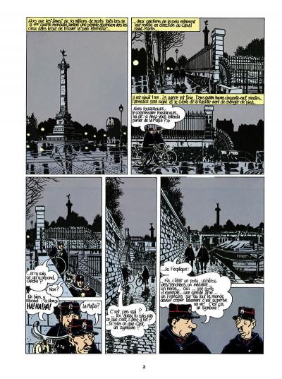 Page 4 Adèle Blanc-Sec tome 6 (édition 2018)