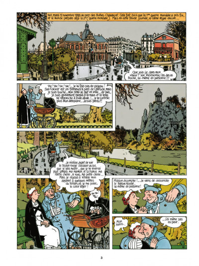 Page 1 Adèle Blanc-Sec - édition 2018 tome 7