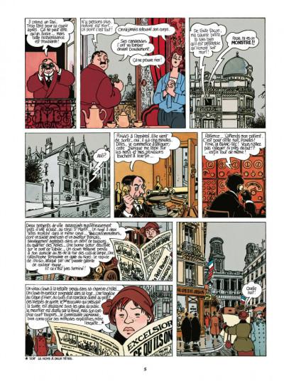 Page 3 Adèle Blanc-Sec - édition 2018 tome 7