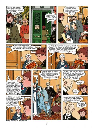 Page 4 Adèle Blanc-Sec - édition 2018 tome 7
