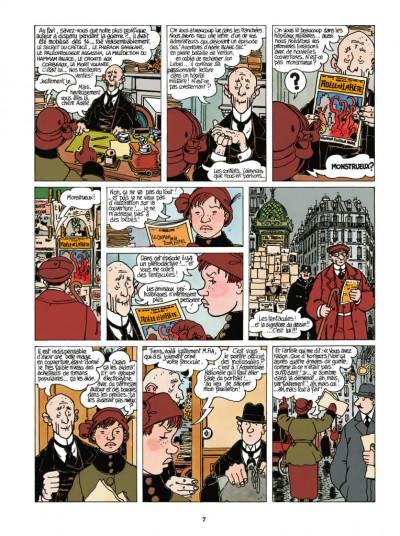 Page 5 Adèle Blanc-Sec - édition 2018 tome 7