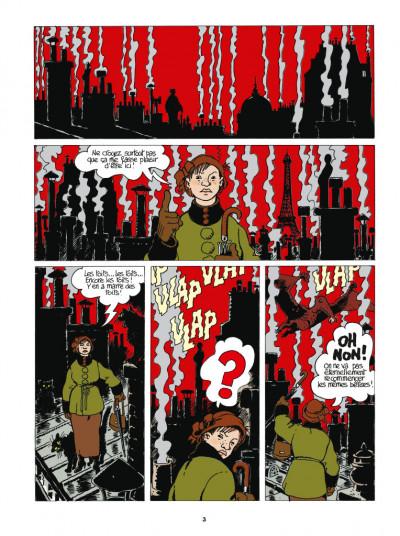 Page 1 Adèle Blanc-Sec - édition 2018 tome 9