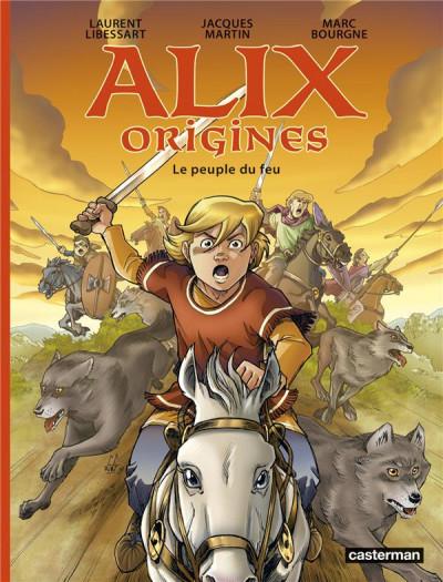Couverture Alix origines tome 2