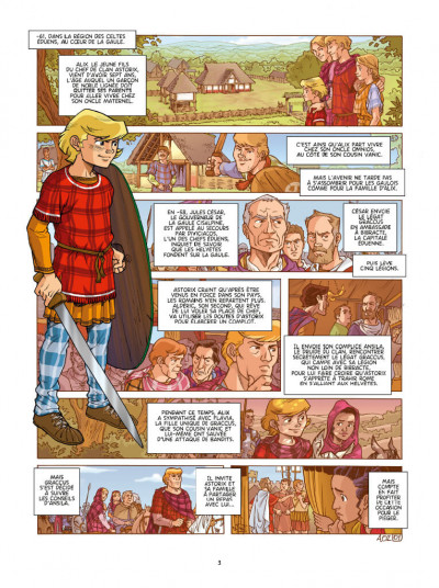 Page 1 Alix origines tome 2