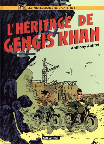 Couverture Les archéologues de l'interdit tome 2 - L'héritage de Genhis Khan