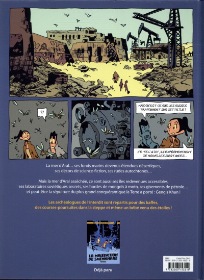 Dos Les archéologues de l'interdit tome 2 - L'héritage de Genhis Khan