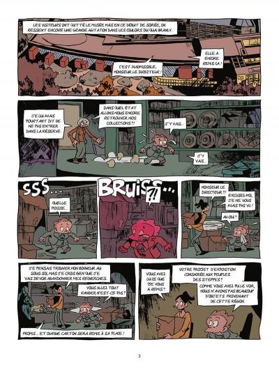 Page 4 Les archéologues de l'interdit tome 2 - L'héritage de Genhis Khan