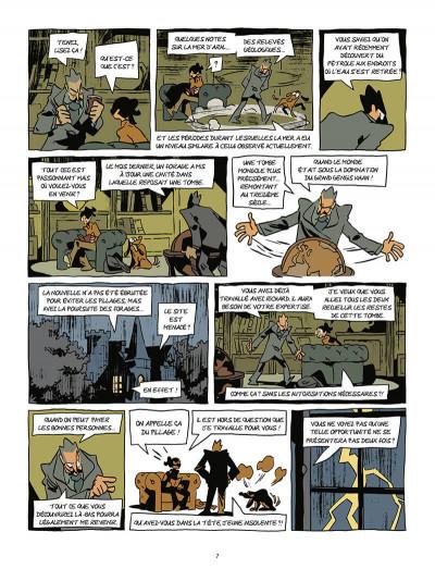 Page 8 Les archéologues de l'interdit tome 2 - L'héritage de Genhis Khan