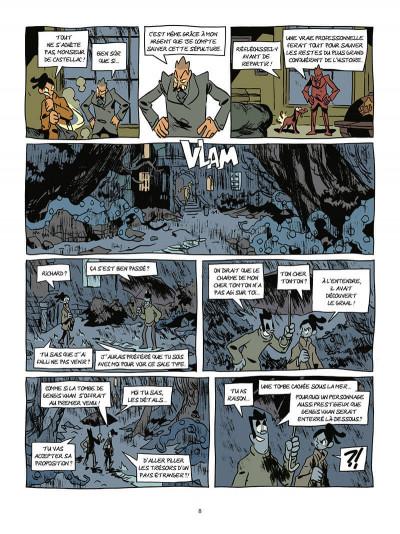Page 9 Les archéologues de l'interdit tome 2 - L'héritage de Genhis Khan