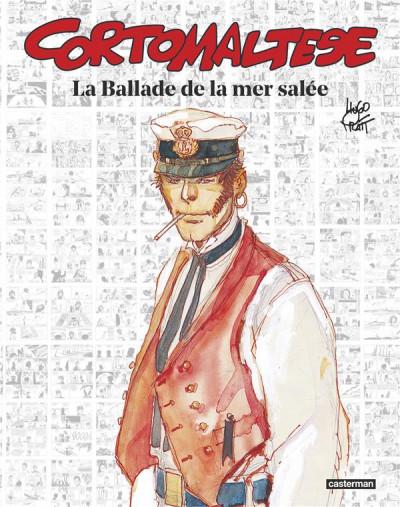 Couverture Corto Maltese - la ballade de la mer salée (édition 50 ans)