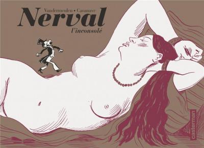 Couverture Nerval l'inconsolé - édition noir & blanc
