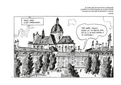 Page 1 Nerval l'inconsolé - édition noir & blanc