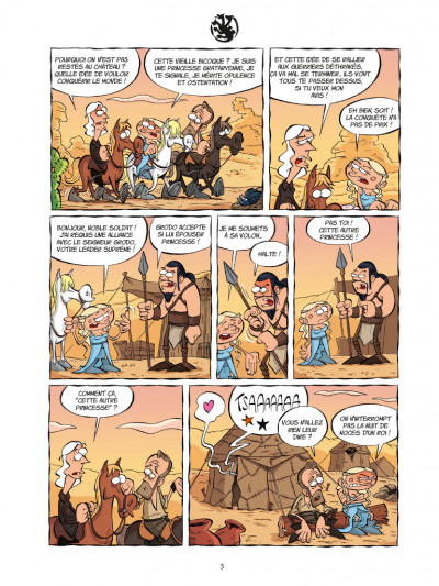 Page 3 Game of crowns tome 1