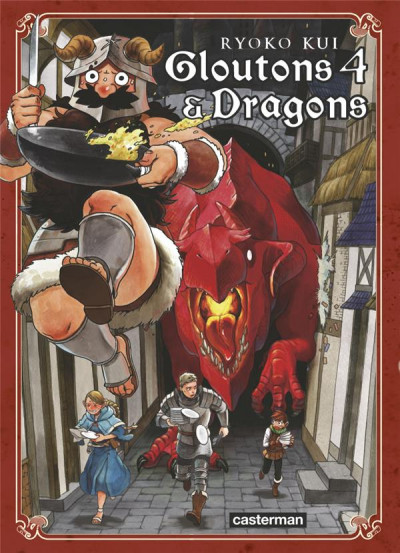 Couverture Gloutons et dragons tome 4