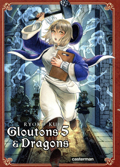 Couverture Gloutons et dragons tome 5