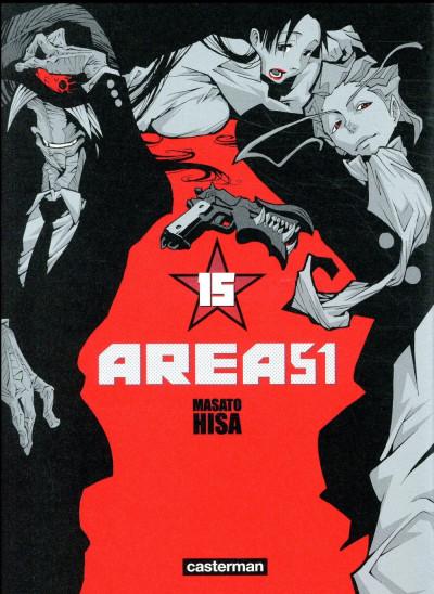 Couverture Area 51 tome 15