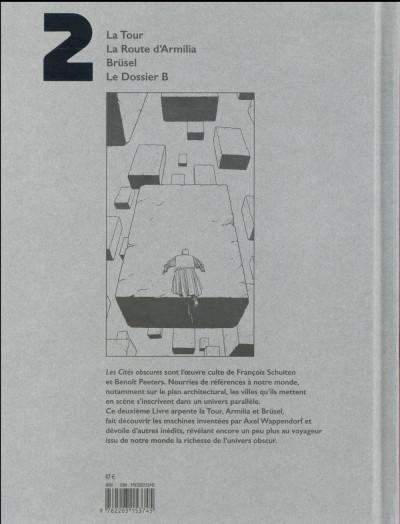 Dos Les cités obscures - intégrale tome 2