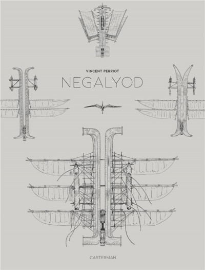 Couverture Negalyod - n&b