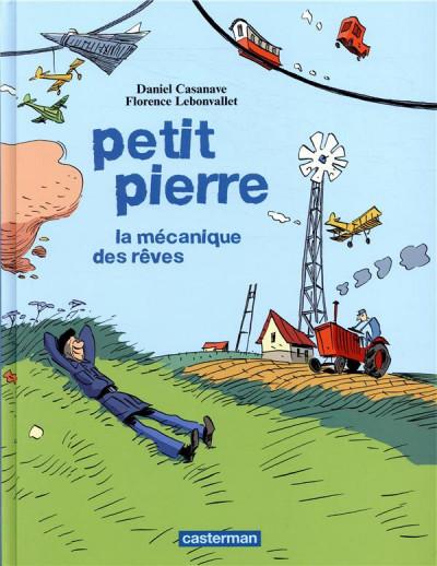 Couverture Petit Pierre - La mécanique des rêves