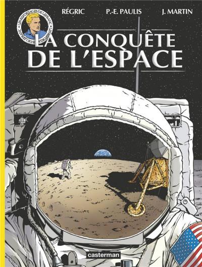 Couverture Les reportages de Lefranc - La conquête spatiale