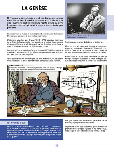 Page 5 Les reportages de Lefranc - La conquête spatiale