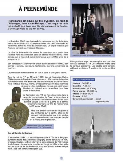 Page 6 Les reportages de Lefranc - La conquête spatiale