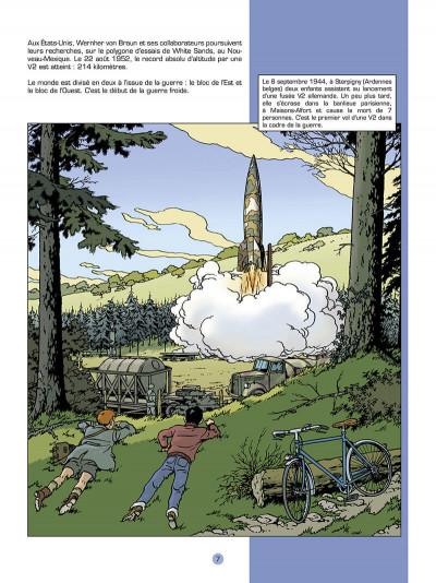 Page 8 Les reportages de Lefranc - La conquête spatiale
