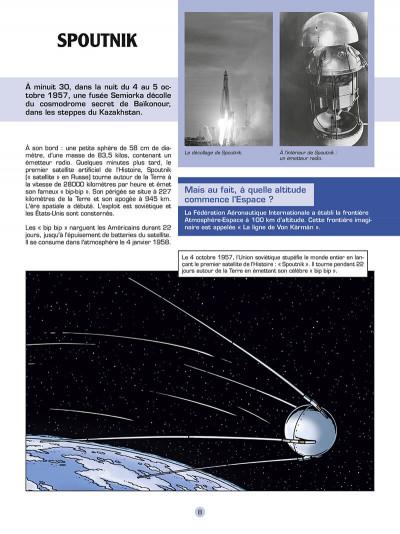 Page 9 Les reportages de Lefranc - La conquête spatiale