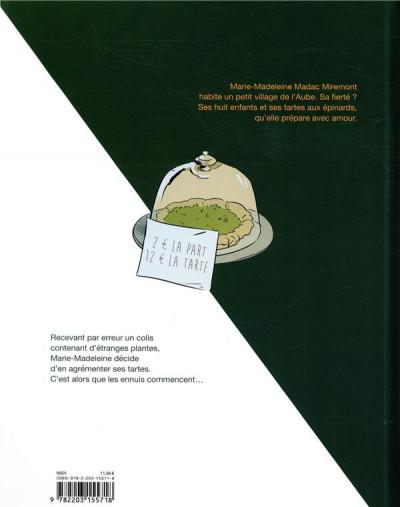 Dos Un peu de tarte aux épinards tome 1