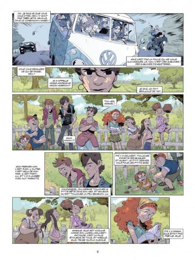 Page 1 Un peu de tarte aux épinards tome 1