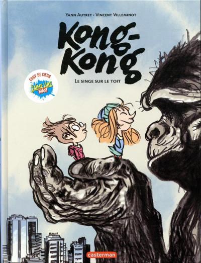 Couverture Kong-kong - Singe sur le toit