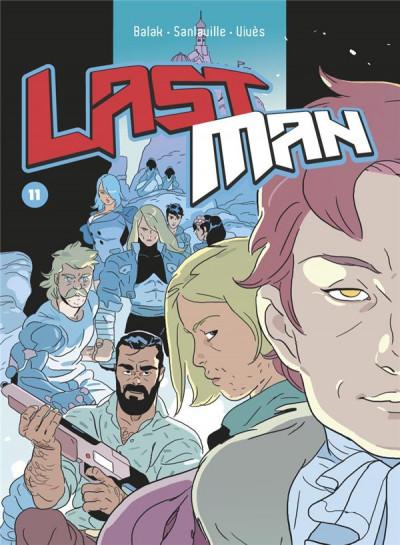 Couverture Lastman tome 11