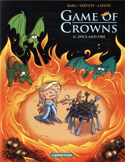 Couverture Game of crowns tome 2