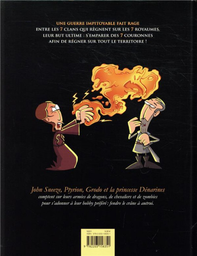 Dos Game of crowns tome 2