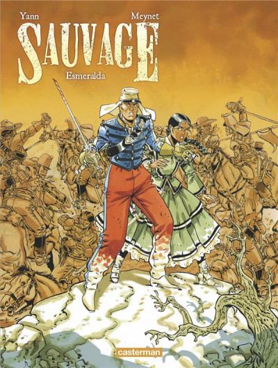 Couverture Sauvage tome 4 + ex-libris offert