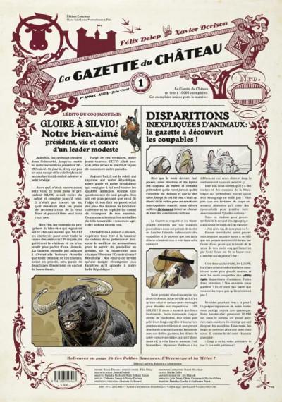 Couverture Le château des animaux - gazette tome 1