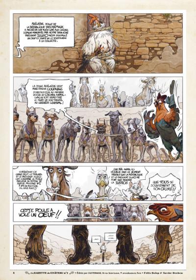 Page 3 Le château des animaux - gazette tome 1