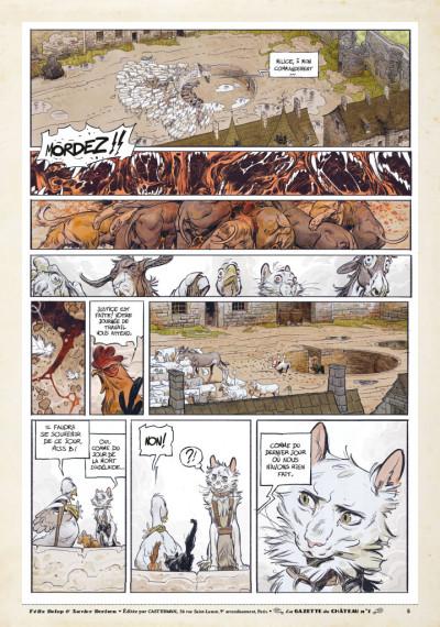 Page 4 Le château des animaux - gazette tome 1