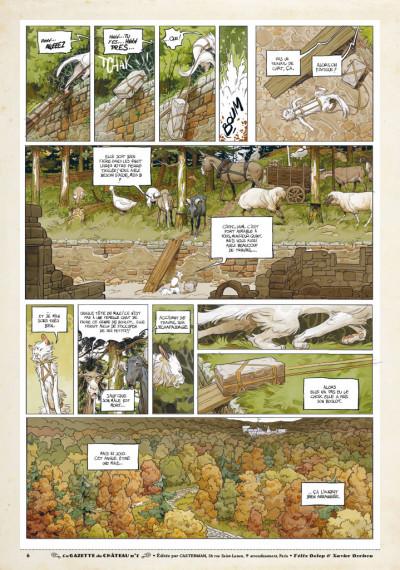 Page 5 Le château des animaux - gazette tome 1