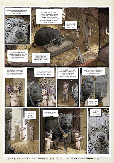 Page 2 Le château des animaux - gazette tome 2