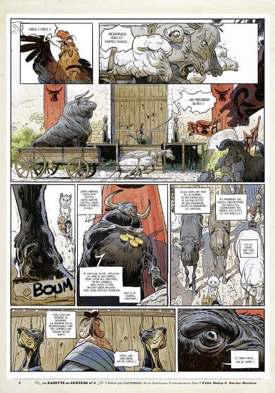 Page 3 Le château des animaux - gazette tome 2