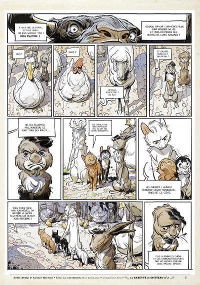 Page 4 Le château des animaux - gazette tome 2