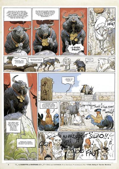 Page 5 Le château des animaux - gazette tome 2
