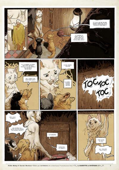 Page 6 Le château des animaux - gazette tome 2