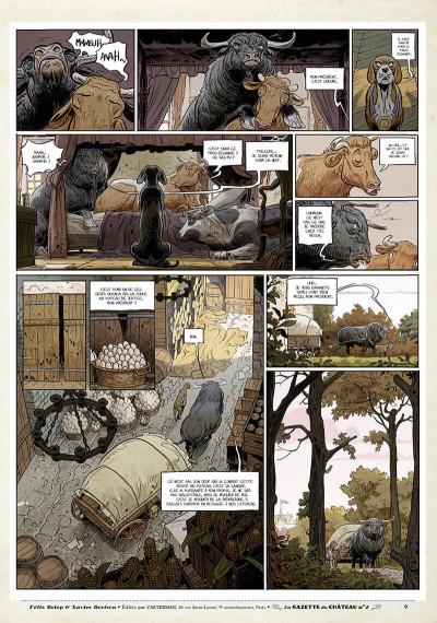 Page 8 Le château des animaux - gazette tome 2