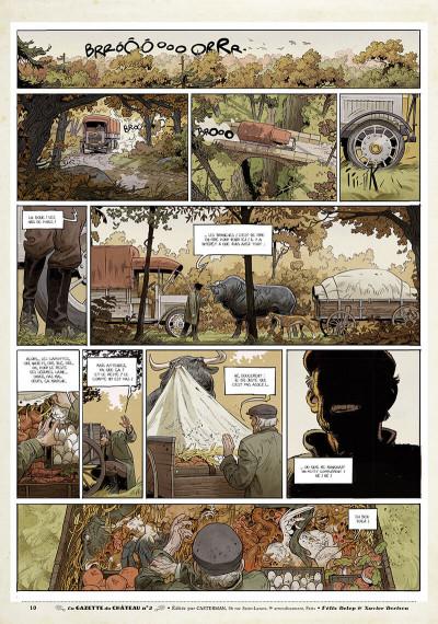 Page 9 Le château des animaux - gazette tome 2