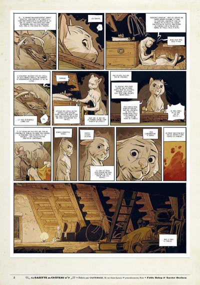 Page 1 Le château des animaux - gazette tome 3
