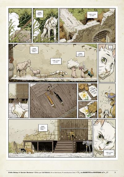 Page 2 Le château des animaux - gazette tome 3