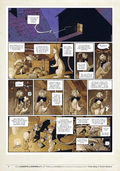 Page 3 Le château des animaux - gazette tome 3